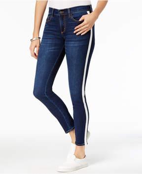 Buffalo David Bitton Striped Skinny Jeans