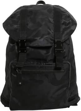 Valentino Large Camouflage Jacquard Backpack