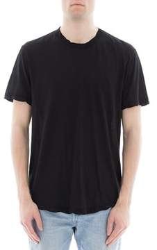 James Perse Men's Black Cotton T-shirt.