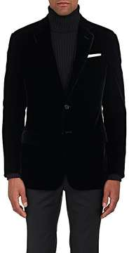 Giorgio Armani Men's Soft Velvet Two-Button Sportcoat