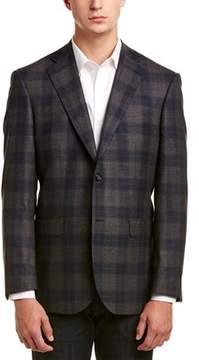 Zanetti Napoli Modern Fit Wool Jacket.
