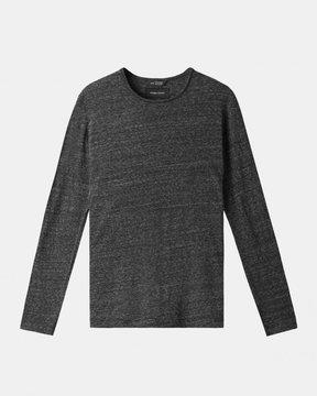 Ubiq Wings+Horns - Splash Jersey Long Sleeve Tee (Black)