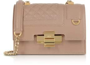 N°21 Powder Pink Quilted Leather Mini Alice Shoulder Bag