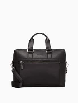 Calvin Klein tech double zip commuter bag