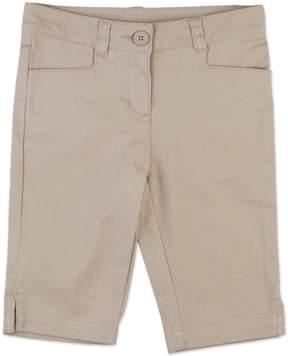 Chaps Girls 4-6x Stretch Twill School Uniform Skimmer Pants