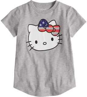 Hello Kitty Girls 4-10 Jumping Beans American Tee