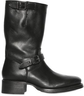 DSQUARED2 50mm Belted Leather Boots