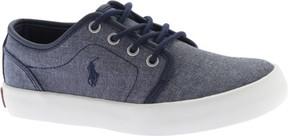 Polo Ralph Lauren Boys' Ethan Low Chambray Sneaker - Big Kid