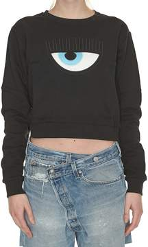 Chiara Ferragni Eye Detail Sweatshirt