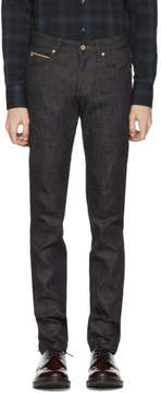 Naked & Famous Denim Denim Indigo Slub Stretch Selvedge Jeans