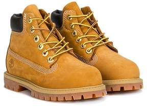 Timberland Kids lace-up boots