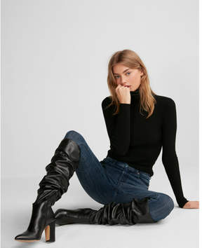 Express tall slouch boots