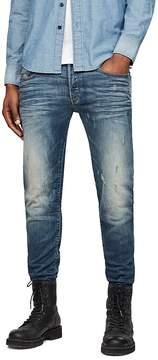 G Star 3301 Super Slim Jeans in Vintage Blue