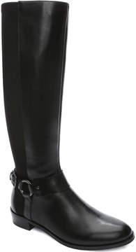 Tahari Robbie Leather Riding Boot