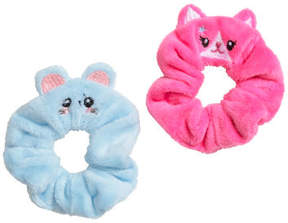H&M 2-pack Velour Scrunchies - Pink