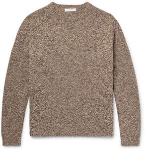 Nonnative Tourist Mélange Shetland Wool Sweater
