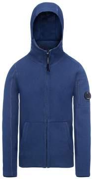 C.P. Company Men's Tubolar Fleece Lens Zip Hooded Sweatshirt