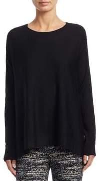 Akris Punto Twilight Back-Print Wool Sweater