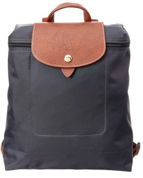 Longchamp Le Pliage Nylon Backpack. - GUN METAL - STYLE