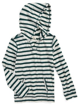 Tucker + Tate Boy's Fashion Knit Stripe Hooded T-Shirt