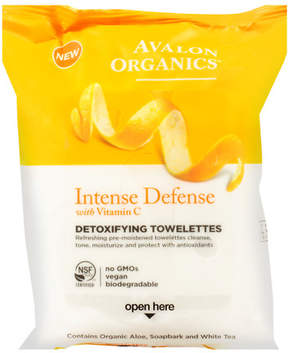 Avalon Organics Detoxifying Vitamin C Towelettes