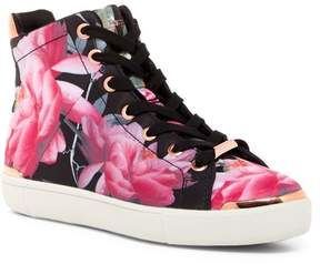 Ted Baker Vleil Citrus Bloom High Top Sneaker