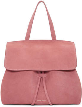 Mansur Gavriel Pink Suede Mini Lady Bag