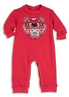 Kenzo Baby's Long Sleeve Cotton Romper
