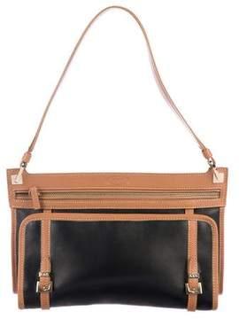 Tod's Bi-Color Leather Shoulder Bag