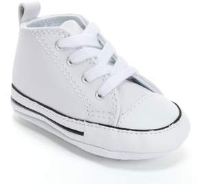 Converse Baby First Star Leather Crib Shoes