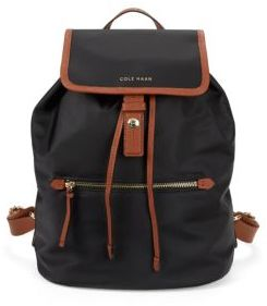 Snap-Flap Draw-String Backpack