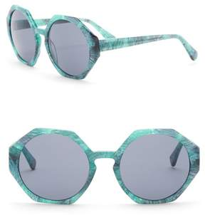 Joe's Jeans Women's Geo 56mm Sunglasses