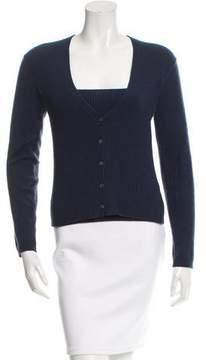 Malo Rib Knit Cashmere Sweater