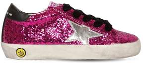 Golden Goose Deluxe Brand Super Star Glittered Sneakers