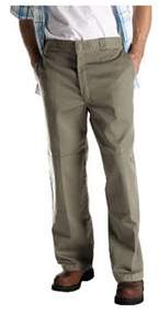 Dickies Men's Loose Fit Double Knee Work Pant 36 Inseam.