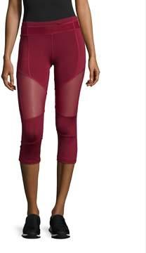 Electric Yoga Women's Color Blocked Mesh Capri Pants