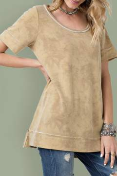 Easel French Terry Top