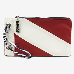 Nautica Signal Flag Wristlet - Red & White