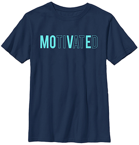 Fifth Sun Navy 'Move Motive' Crewneck Tee - Youth