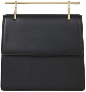 M2Malletier La Collectionneuse Black Leather Bag