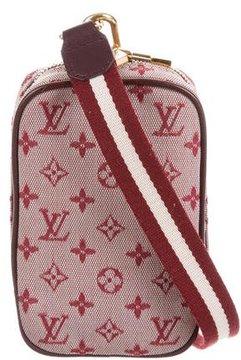 Louis Vuitton Mini Lin Camera Bag - RED - STYLE