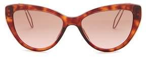 Miu Miu Women's Cat Eye Acetate Frame Sunglasses