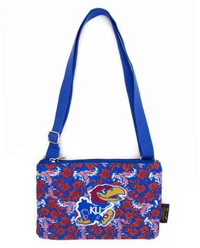NCAA Kansas Jayhawks Bloom Crossbody Bag