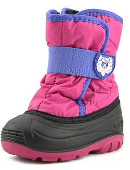 Kamik Snowbug 3 Round Toe Canvas Winter Boot.