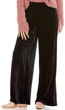 Chelsea & Violet Pleated Velvet Pant