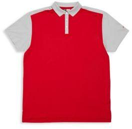 Callaway Big & Tall Short Sleeve Athletic Colorblock Shirt