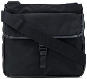 Prada push buckle messenger bag