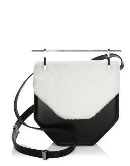 M2Malletier Flap Leather Crossbody Bag