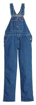 Dickies Boys' Stonewashed Denim Overalls - Indigo Blue