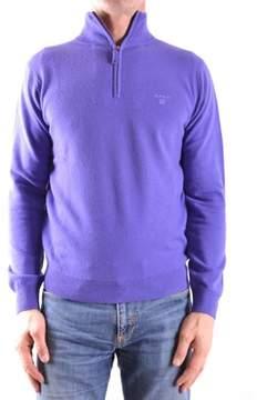Gant Men's Purple Wool Sweater.
